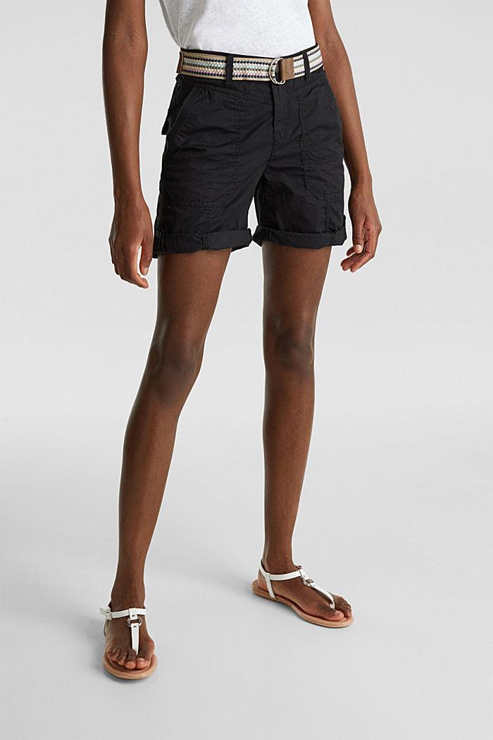 PLAY organic cotton shorts, BLACK, detail image number 6