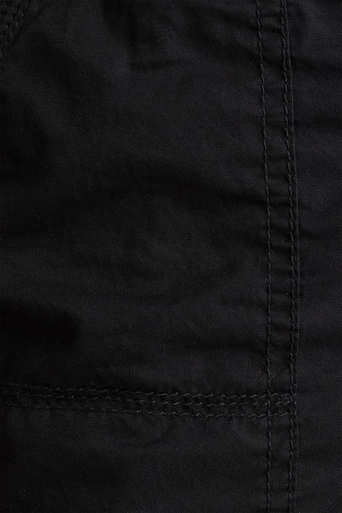 PLAY organic cotton shorts, BLACK, detail image number 4