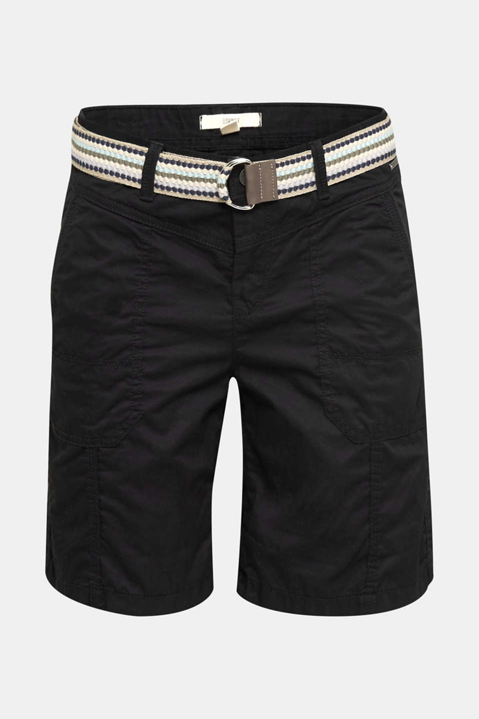 PLAY organic cotton shorts, BLACK, detail image number 7