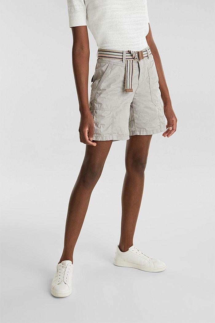 PLAY organic cotton shorts, LIGHT GREY, detail image number 5