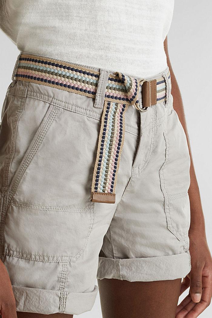 PLAY organic cotton shorts, LIGHT GREY, detail image number 2