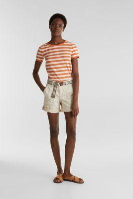 PLAY organic cotton shorts, SAND, detail