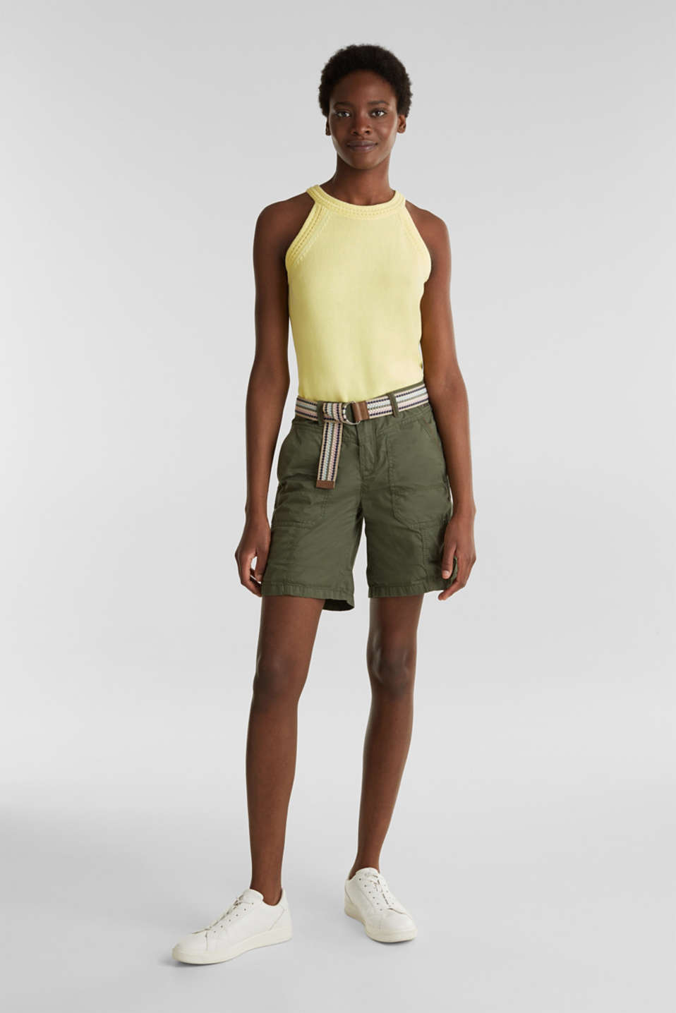 Esprit - Shorts PLAY in cotone biologico