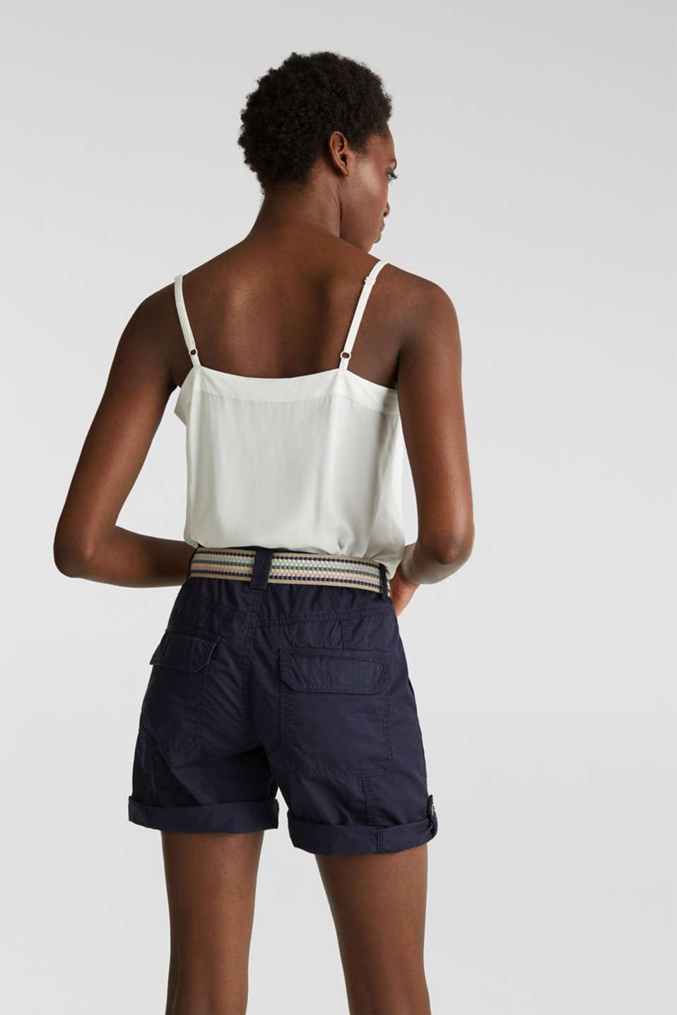 PLAY organic cotton shorts, NAVY, detail image number 2