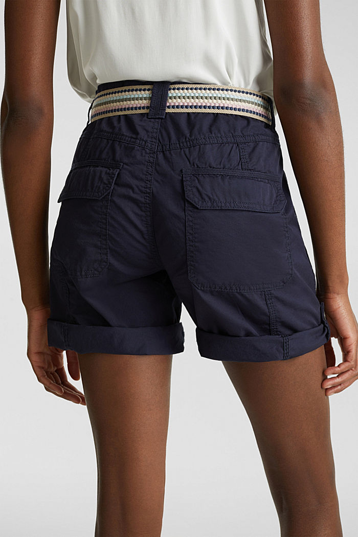 PLAY Bio-Baumwoll-Shorts, NAVY, detail image number 4