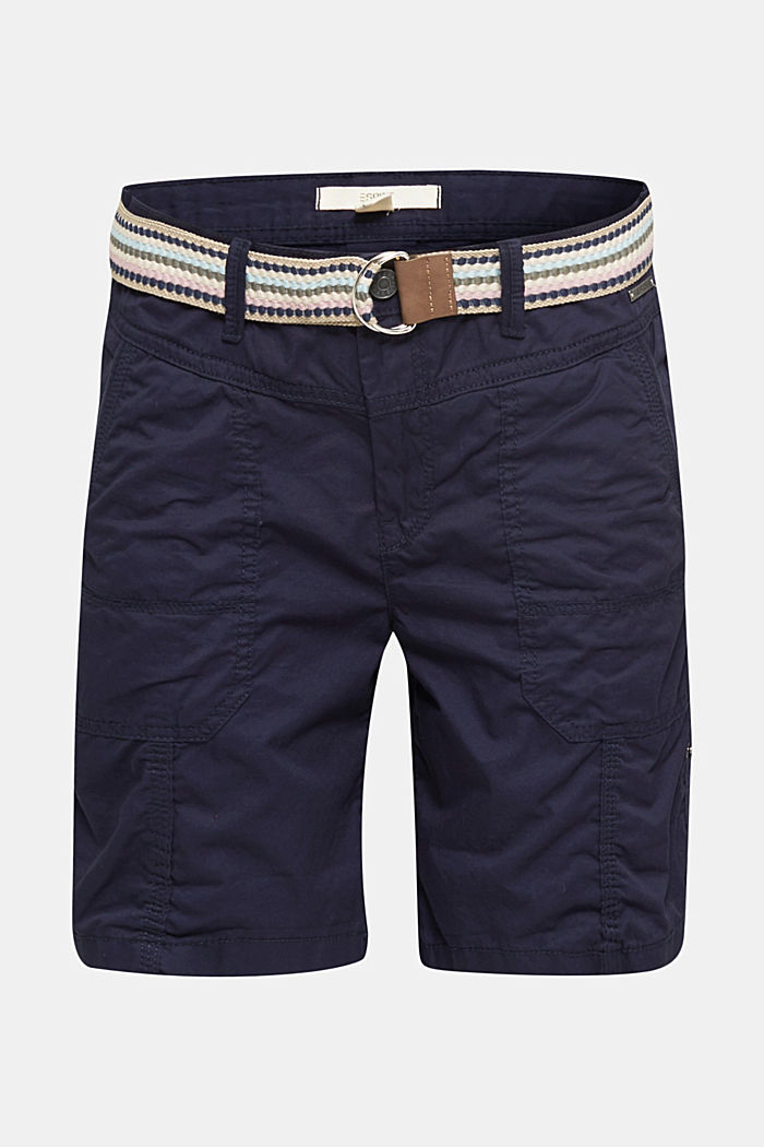 PLAY Bio-Baumwoll-Shorts, NAVY, detail image number 6