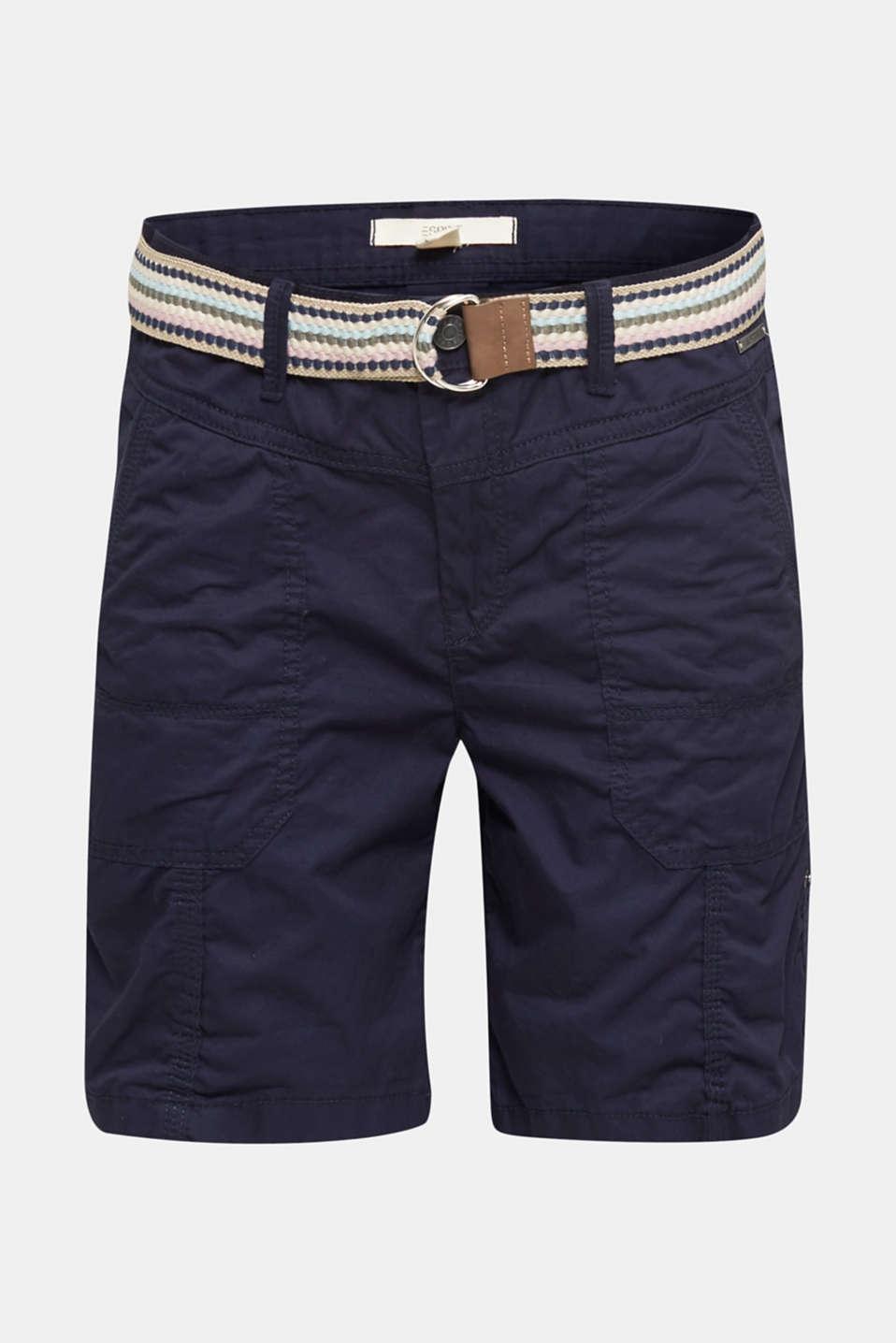 PLAY organic cotton shorts, NAVY, detail image number 6