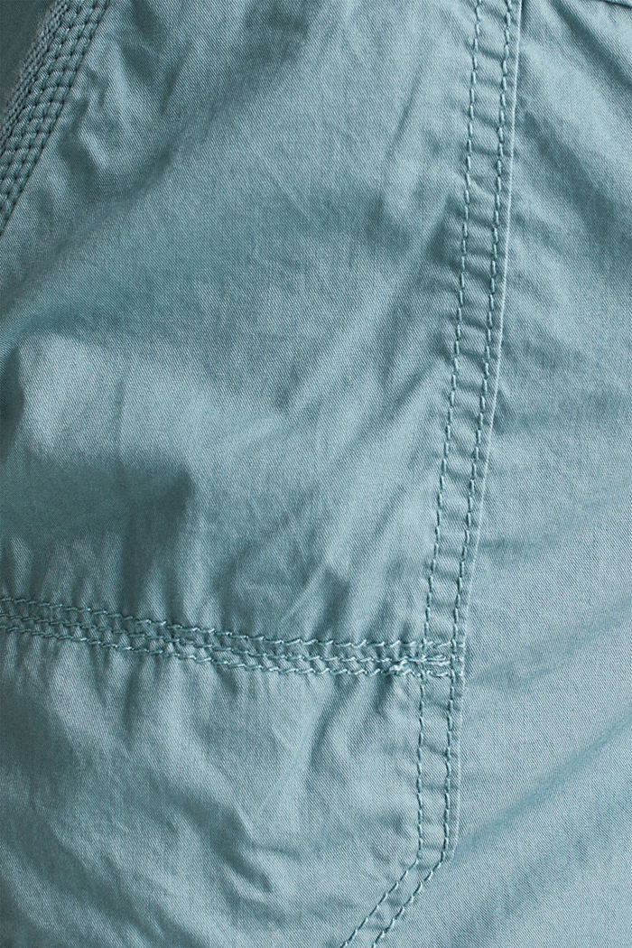 PLAY organic cotton shorts, GREY BLUE, detail image number 4