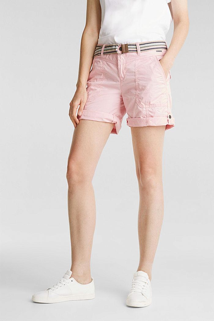 PLAY organic cotton shorts, PINK, detail image number 0
