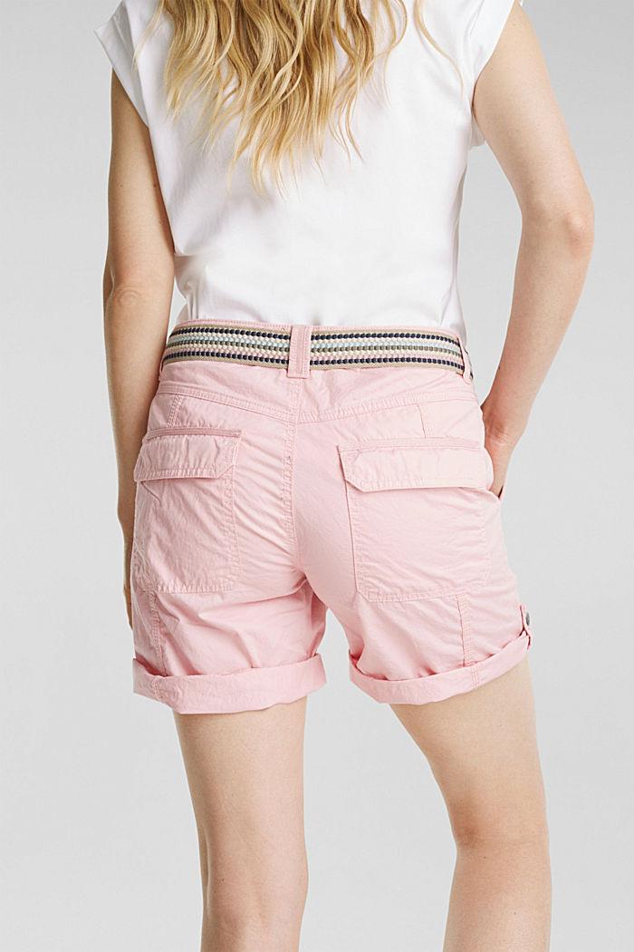 PLAY organic cotton shorts, PINK, detail image number 2