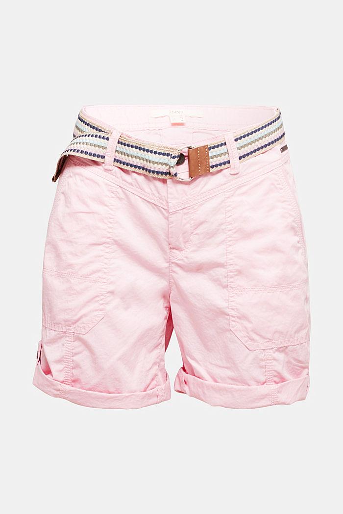 PLAY organic cotton shorts, PINK, detail image number 7