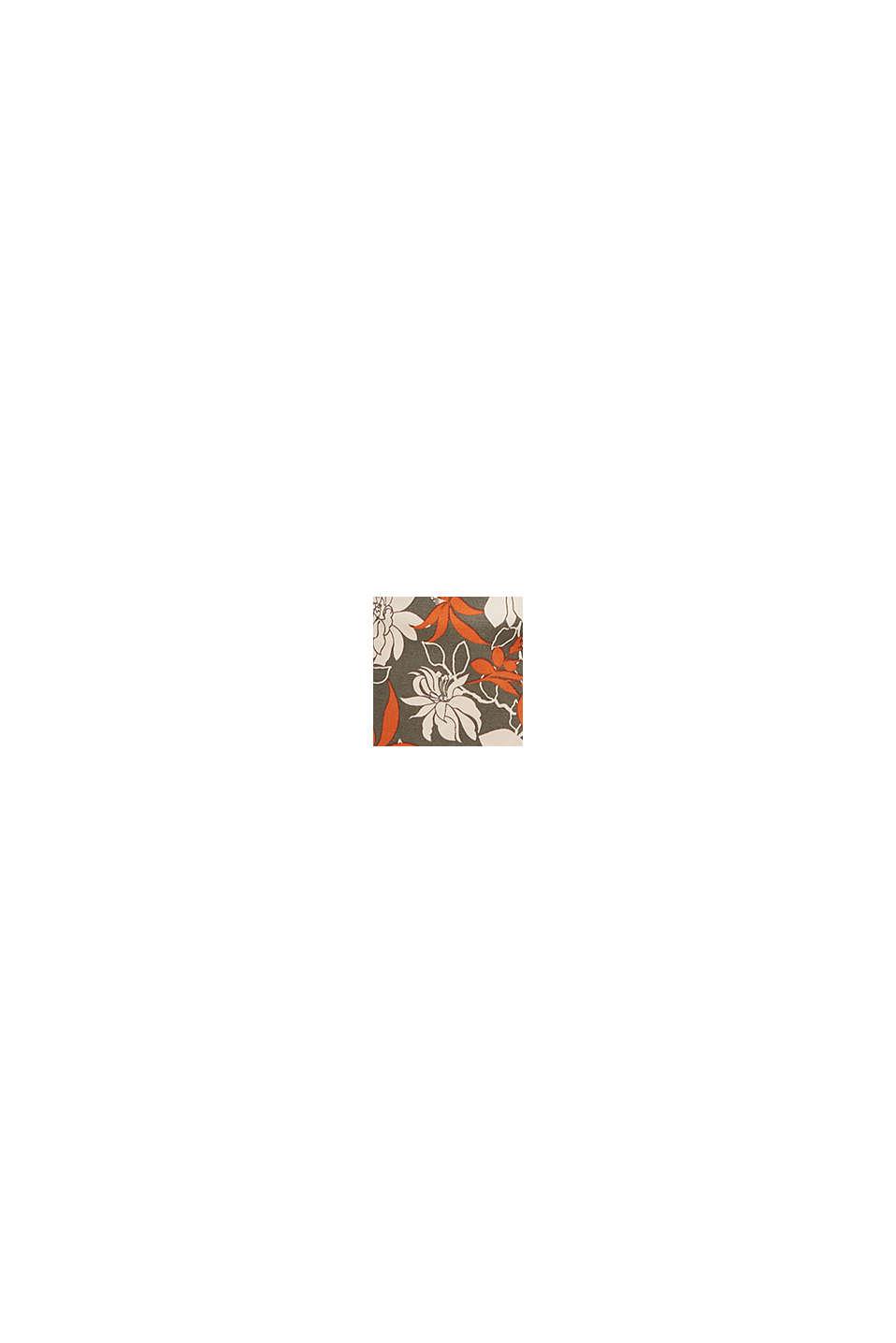 Shorts med blomsterprint, KHAKI GREEN, swatch