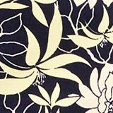 Short met bloemenprint, NAVY, swatch