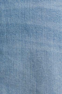Midi A-line denim skirt, BLUE MEDIUM WASH, detail