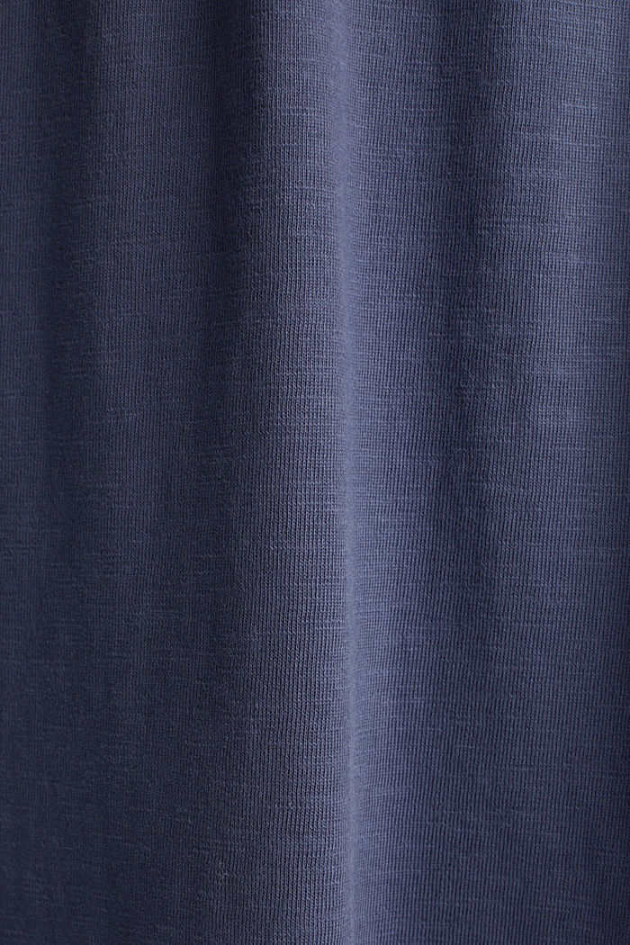 Jersey skirt made of 100% organic cotton, NAVY, detail image number 4