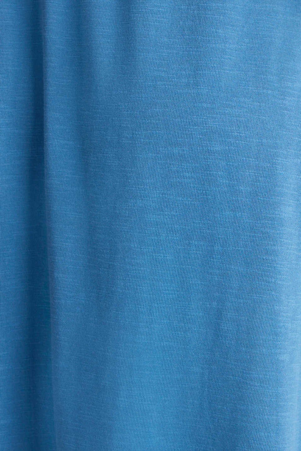 Jersey skirt made of 100% organic cotton, BRIGHT BLUE 2, detail image number 4