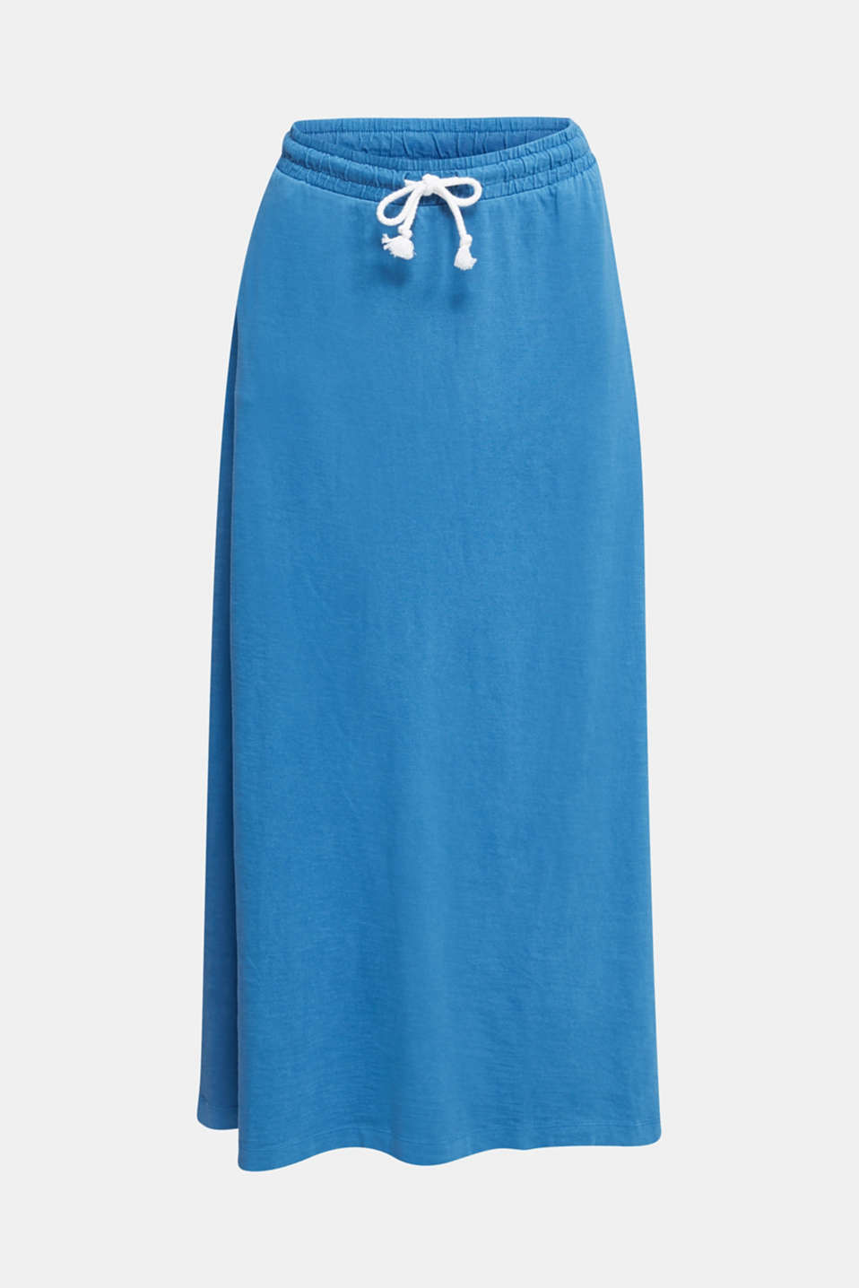 Jersey skirt made of 100% organic cotton, BRIGHT BLUE 2, detail image number 6