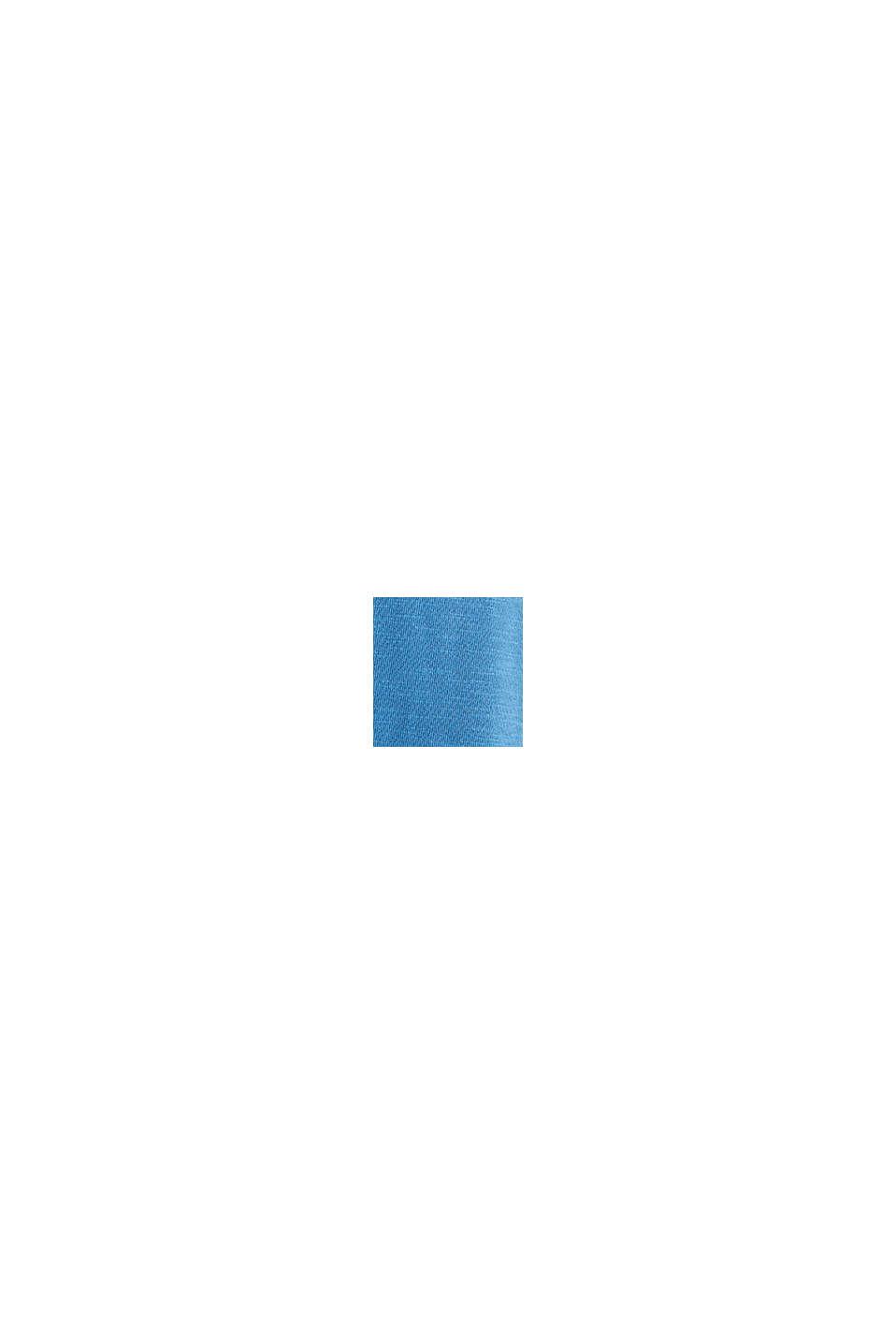 Jersey-Rock aus 100% Organic Cotton, BRIGHT BLUE, swatch