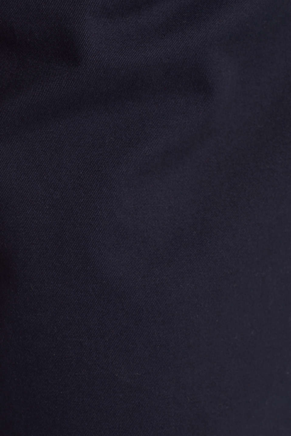 Woven skirt with large front pockets, NAVY, detail image number 4