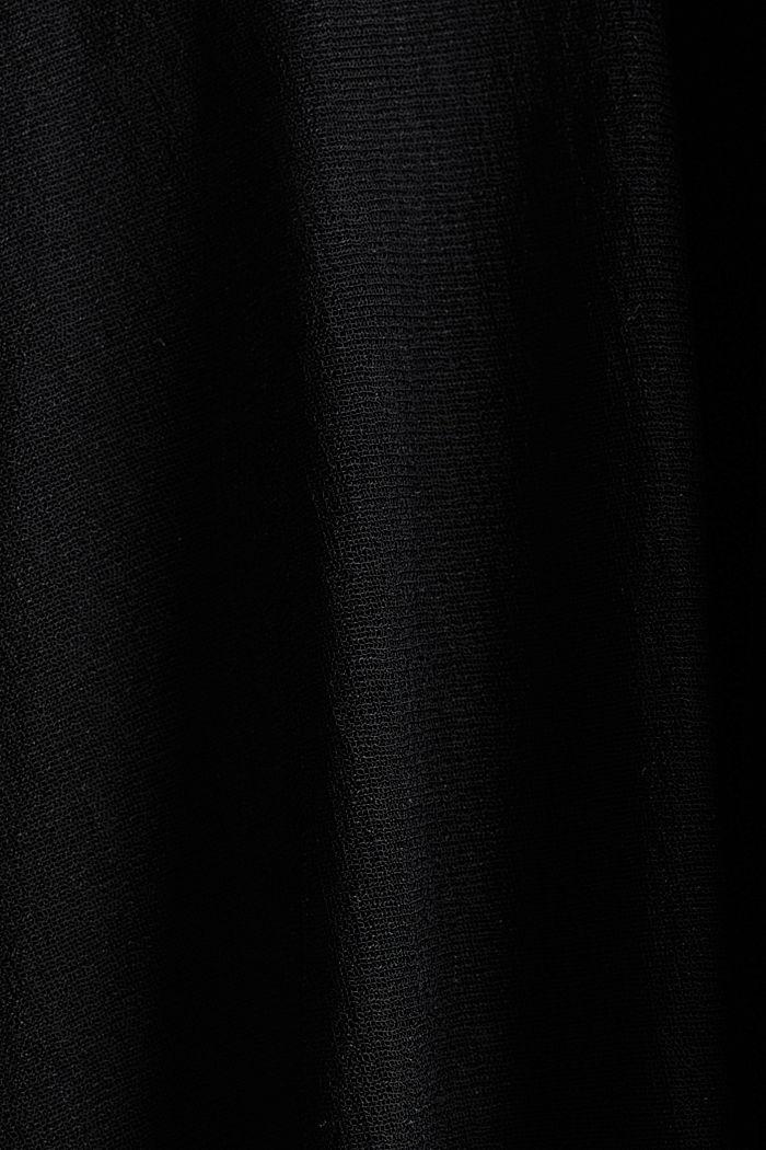 Jersey midi skirt, BLACK, detail image number 4
