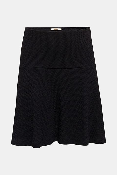 Jersey skirt made of 100% cotton