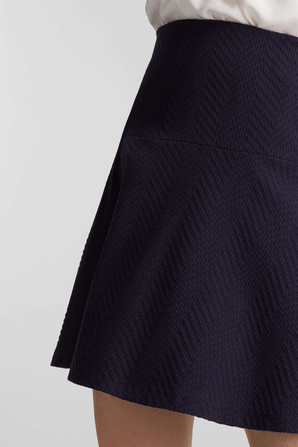 Jersey skirt made of 100% cotton, NAVY, detail image number 4