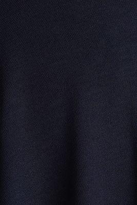 CURVY A-line jersey skirt, NAVY, detail
