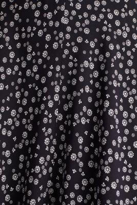 Printed skirt made of LENZING™ ECOVERO™, NAVY 4, detail
