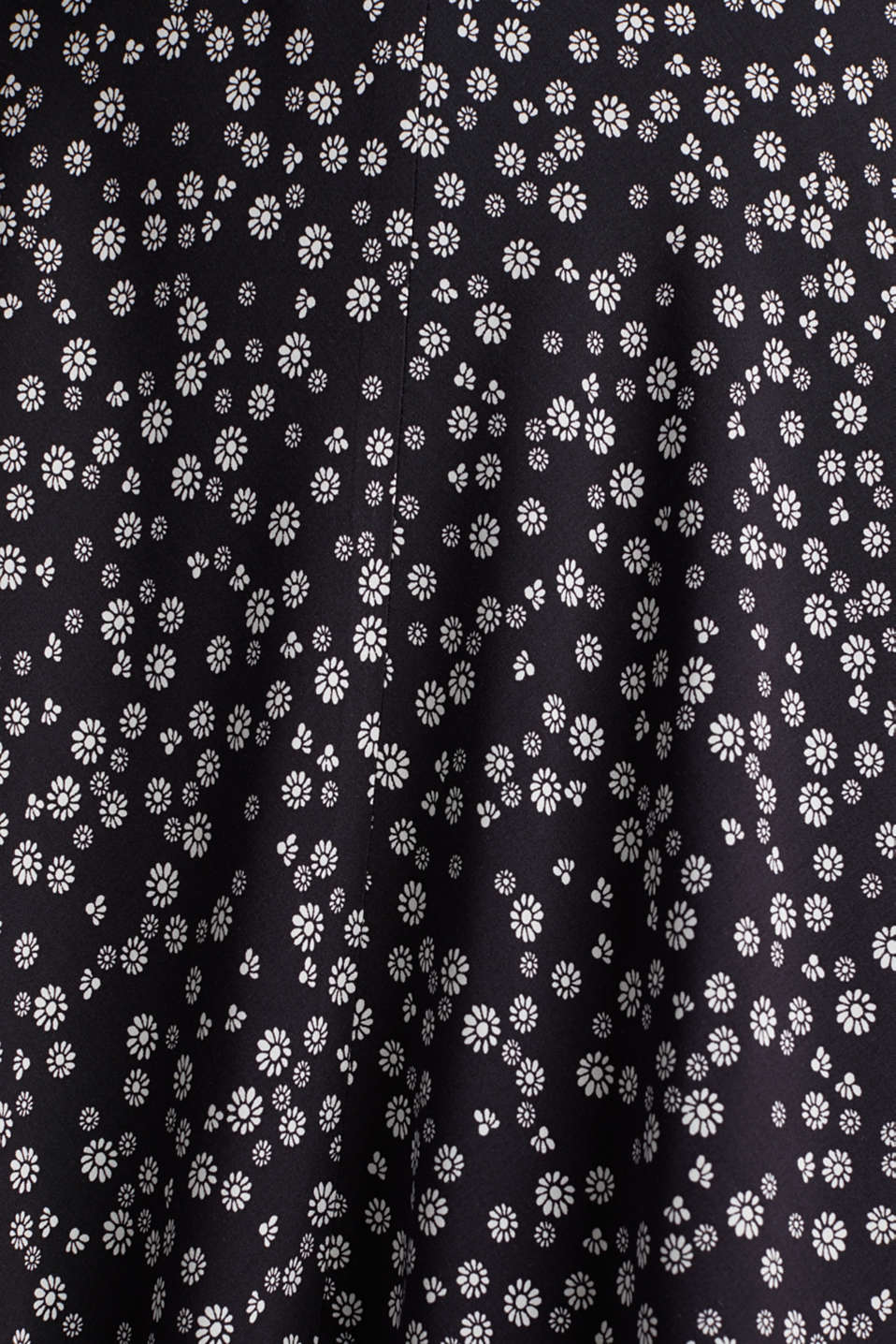 Printed skirt made of LENZING™ ECOVERO™, NAVY 4, detail image number 3
