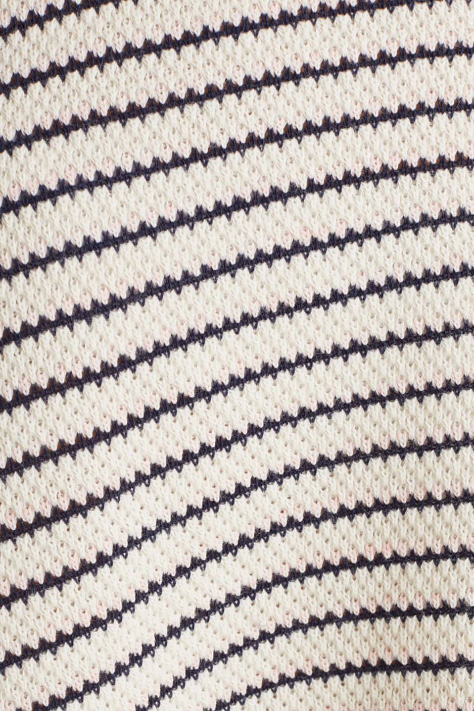 Jersey dress with textured stripes, SAND, detail image number 3