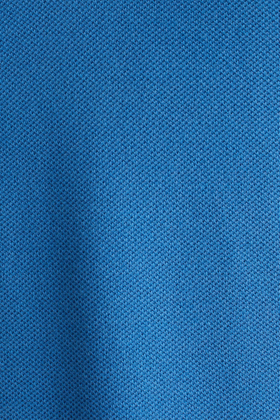Polo dress made of stretch piqué, BRIGHT BLUE 2, detail image number 4