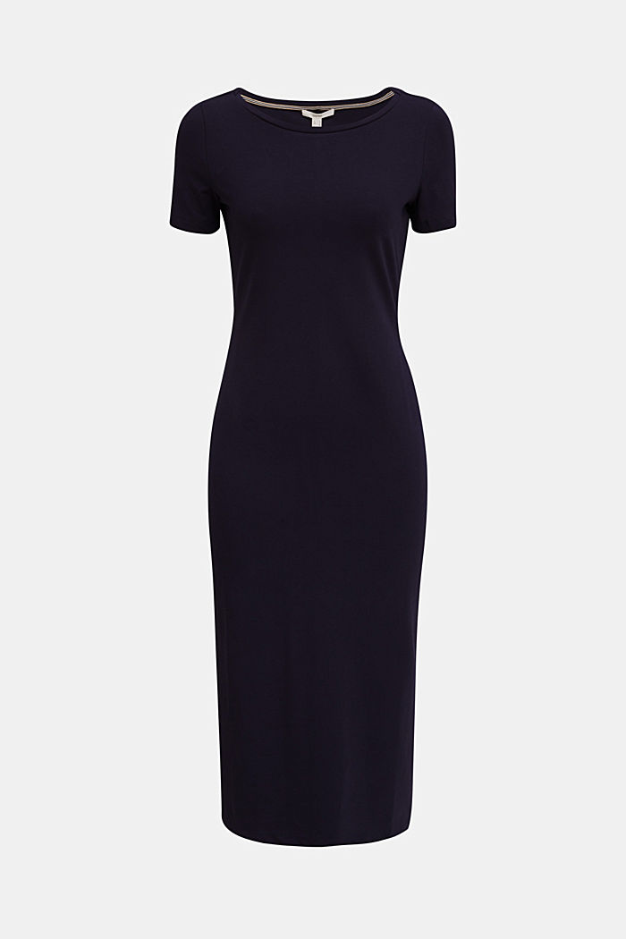 Jersey dress with organic cotton