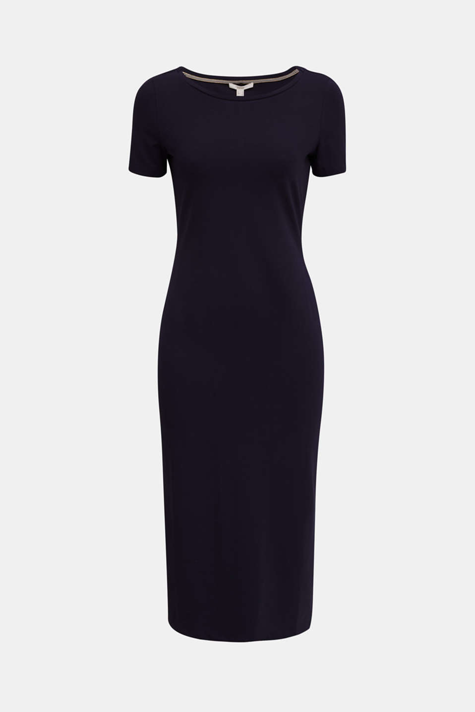 Jersey dress with organic cotton, NAVY, detail image number 5