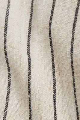 Linen blend: sheath dress with a belt, SAND 4, detail