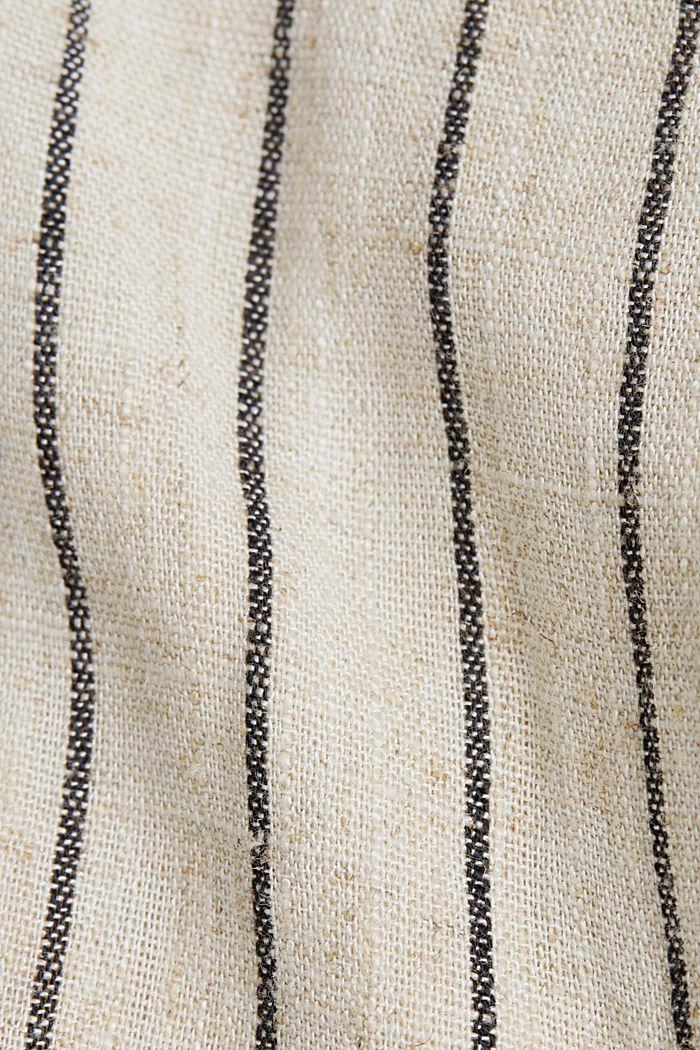 À teneur en lin: la robe fourreau à ceinture, SAND, detail image number 4