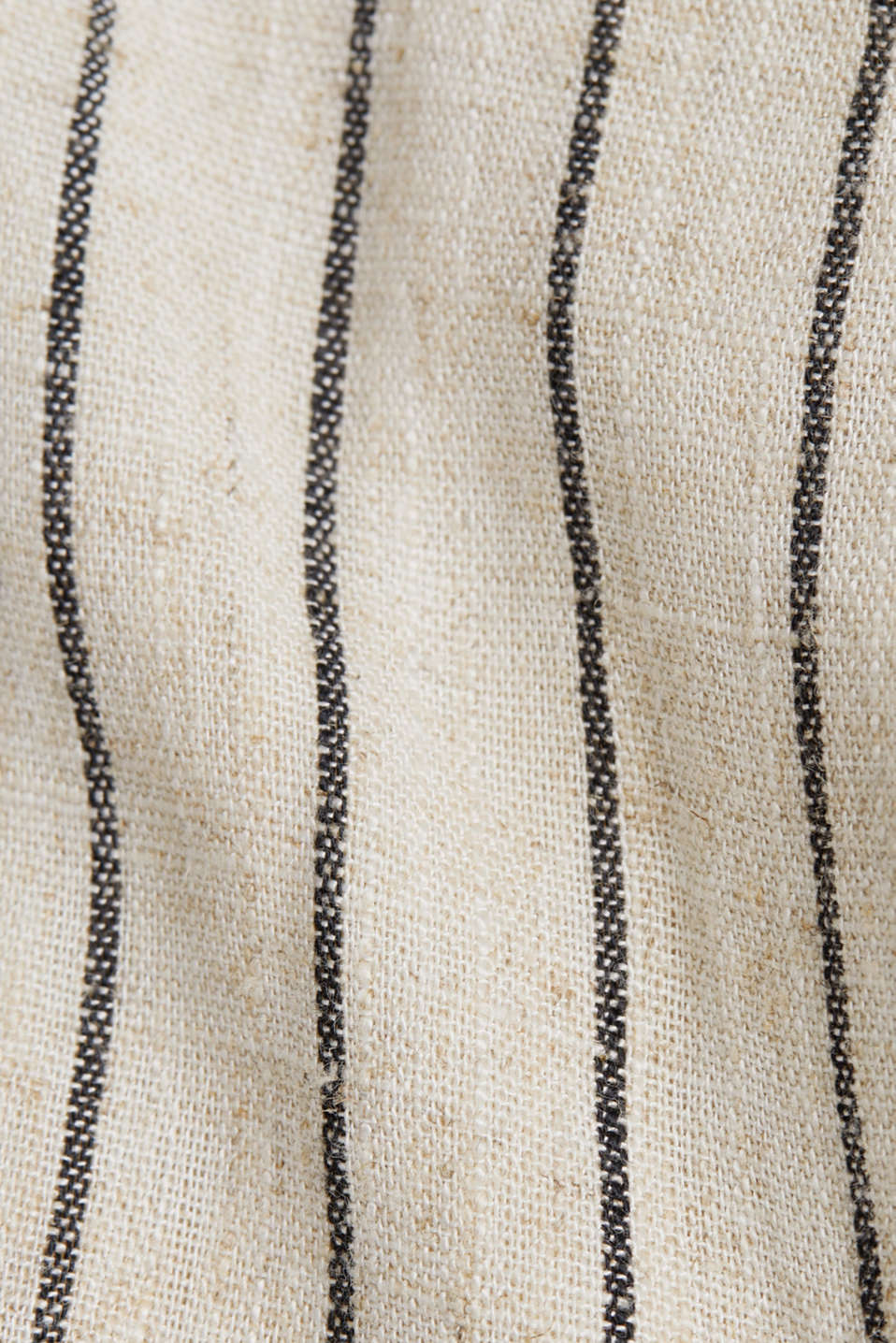 Linen blend: sheath dress with a belt, SAND 4, detail image number 4