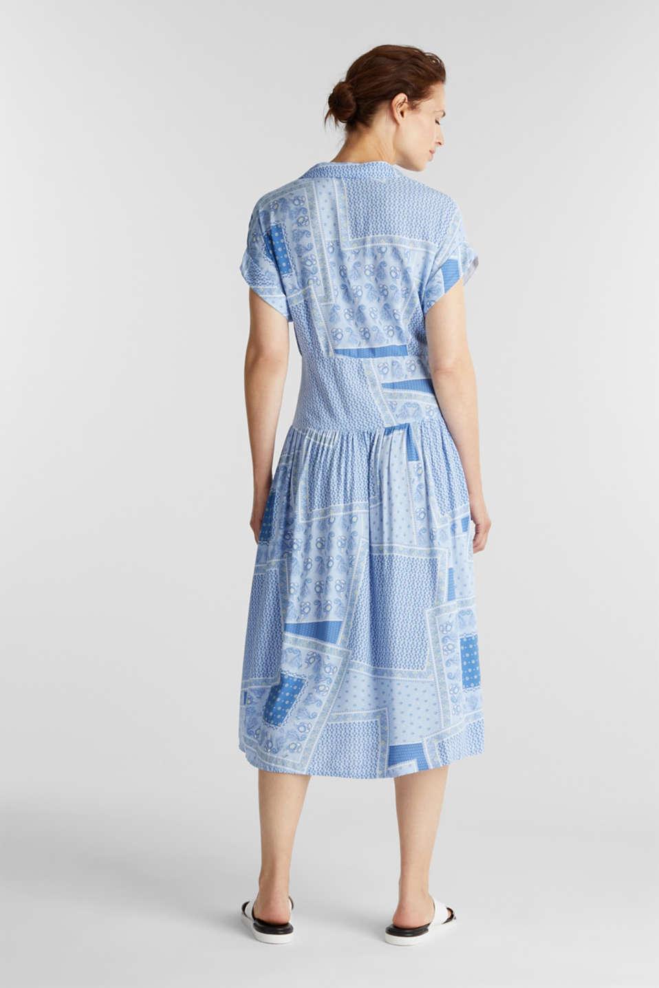 Shirt dress with bandana print, LIGHT BLUE 4, detail image number 2