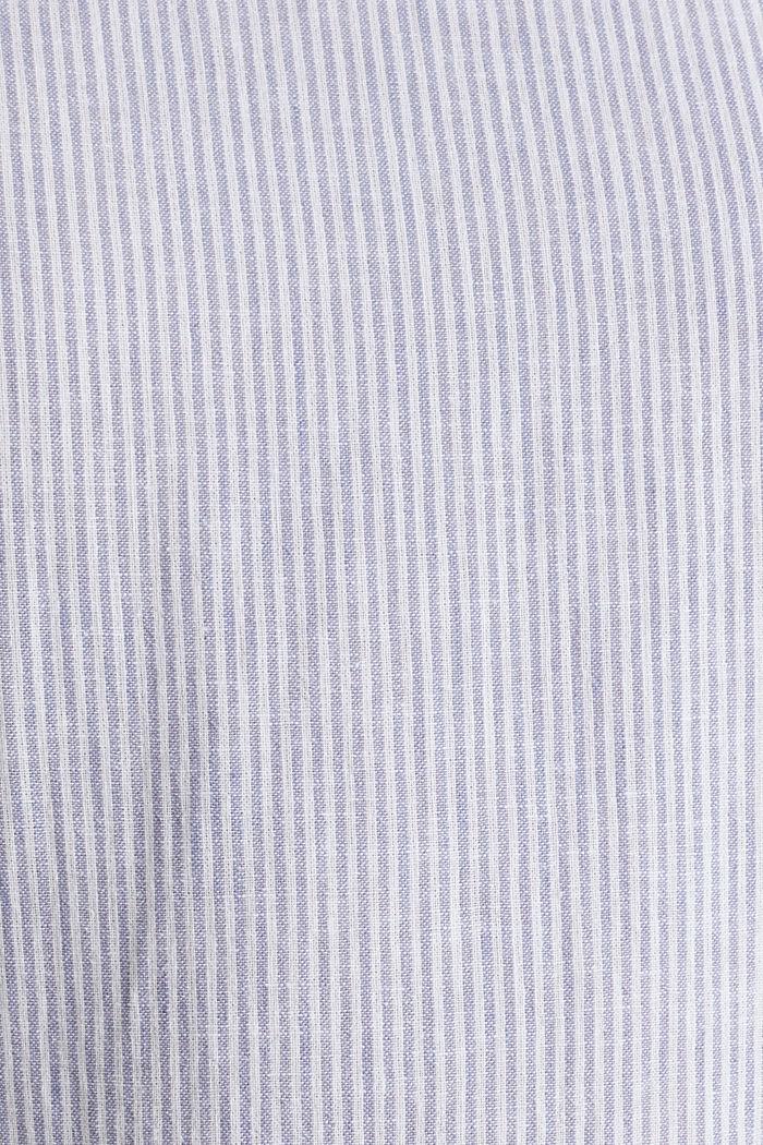 Linen blend: striped dress, LIGHT BLUE, detail image number 4