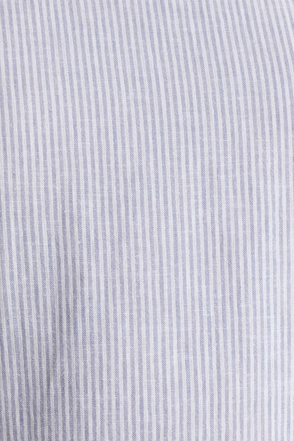 Linen blend: striped dress, LIGHT BLUE 4, detail image number 4