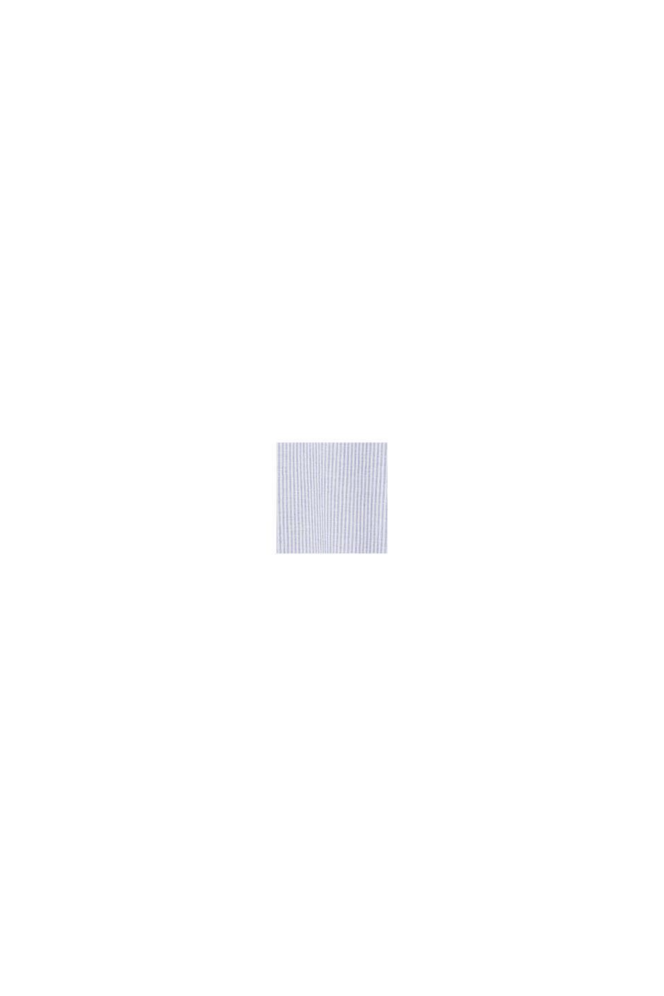 Aus Leinen-Mix: Kleid mit Streifen, LIGHT BLUE, swatch