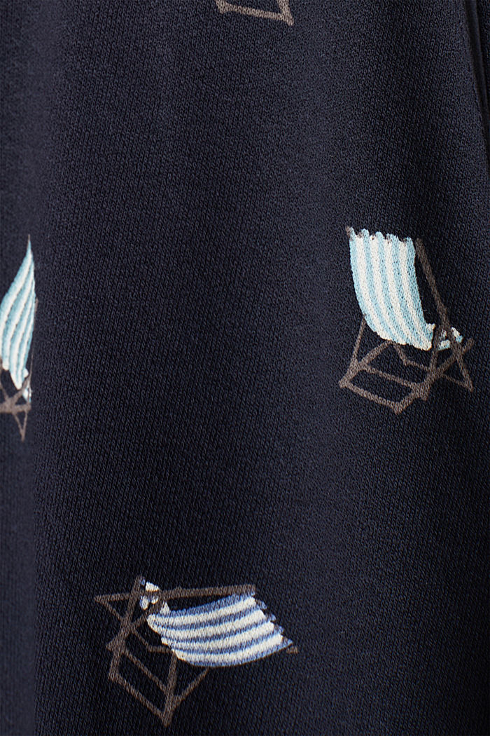 Jersey-Stretch-Kleid in Wickel-Optik, NEW NAVY, detail image number 4