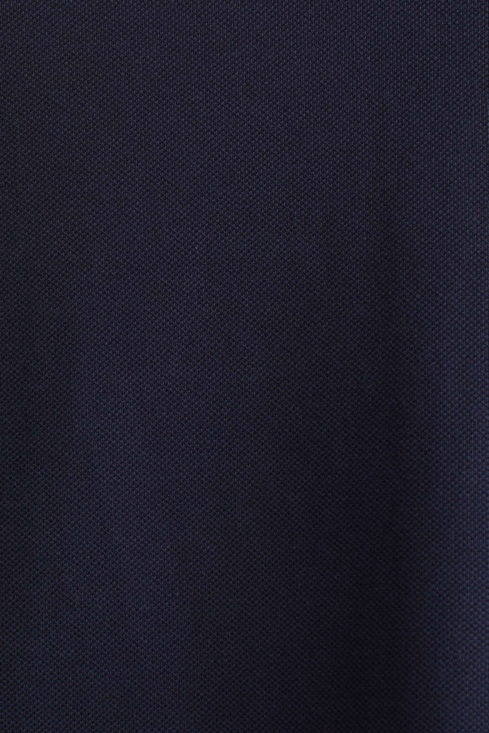 CURVY polo dress made of piqué, NAVY, detail image number 3