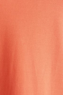 CURVY polo dress made of piqué, CORAL 4, detail