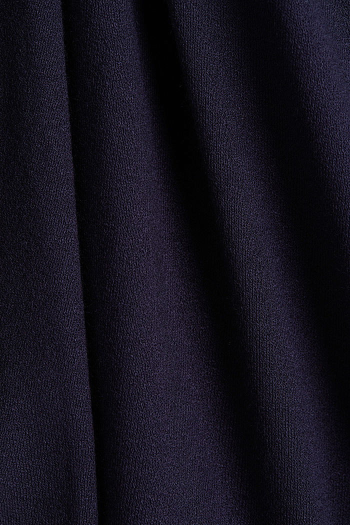 Stretch jersey wrap dress, NAVY, detail image number 4