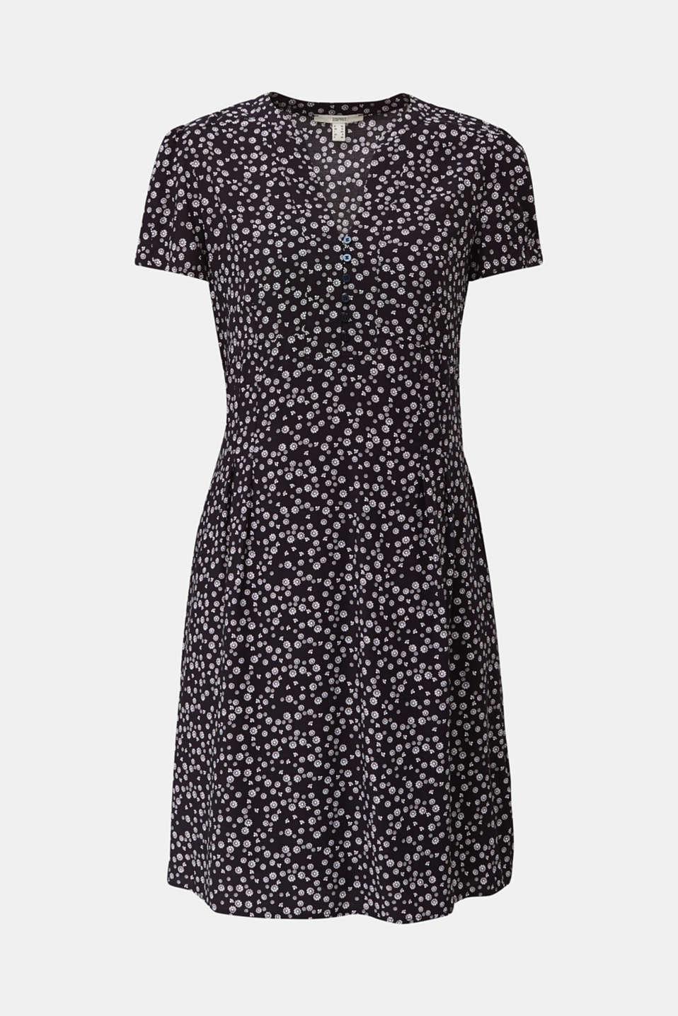 Shirt dress made of LENZING™ ECOVERO™, NAVY 4, detail image number 6