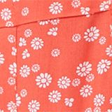 Printed dress made of LENZING™ ECOVERO™, CORAL, swatch