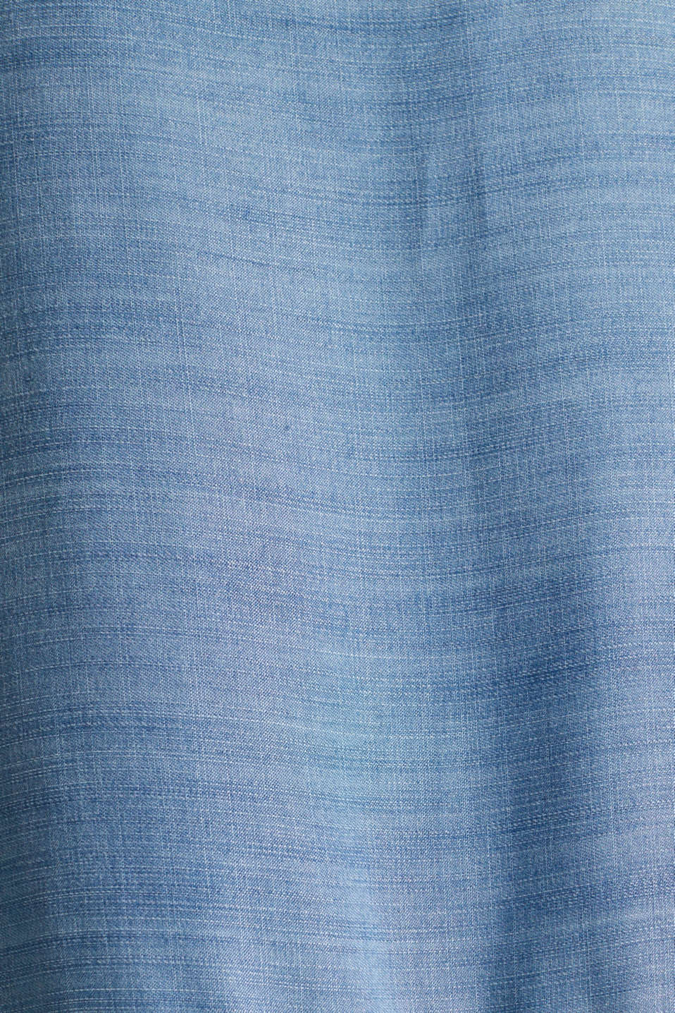 Made of TENCEL™: embroidered dress, BLUE MEDIUM WASH, detail image number 4