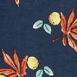 CURVY stretch jersey dress with a print, NAVY, swatch