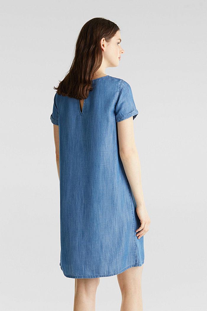 Made of TENCEL™: A-line denim dress, BLUE MEDIUM WASHED, detail image number 2