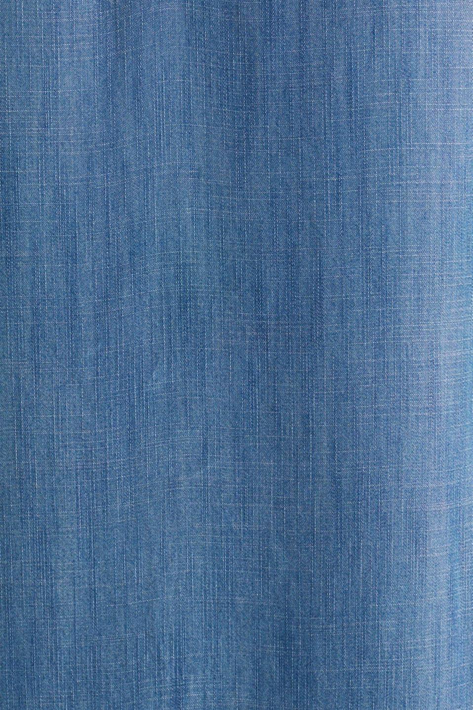 Made of TENCEL™: A-line denim dress, BLUE MEDIUM WASH, detail image number 3